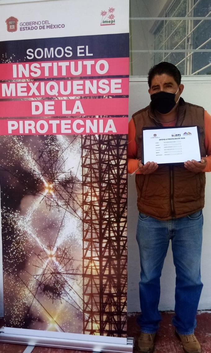 #IMEPI CONVOCA A FORMAR PARTE DEL PROGRAMA APOYO A PIROTÉCNICAS Y PIROTÉCNICOS 2020. 1