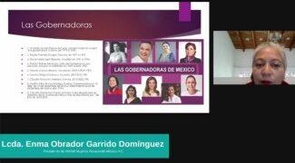 LLEVAN A CABO PANEL VIRTUAL SOBRE EL VOTO DE LA MUJER EN MÉXICO. 10