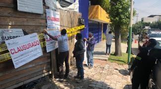 #PROPAEM CLAUSURA CONSTRUCCIONES REALIZADAS SOBRE ÁREAS NATURALES PROTEGIDAS. 11