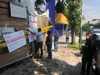 #PROPAEM CLAUSURA CONSTRUCCIONES REALIZADAS SOBRE ÁREAS NATURALES PROTEGIDAS. 9