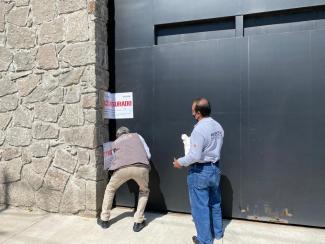PROCURADURÍA AMBIENTAL CLAUSURA TRES CONSTRUCCIONES EN #TOLUCA. 1