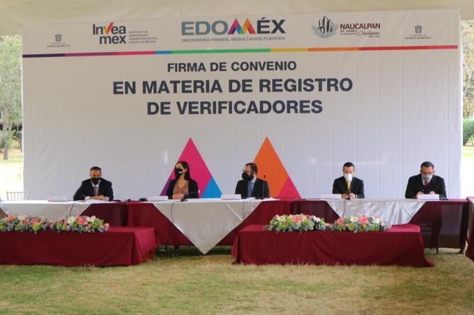 COLABORAN #EDOMÉX Y NAUCALPAN EN REGISTRO DE VEERIFICADORES MUNICIPALES. 4