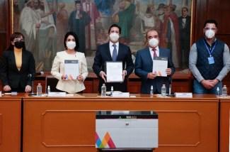 #GEM ENTREGA A LA LX LEGISLATURA LOCAL EL PAQUETE FISCAL 2021. 1