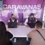 EN EL #EDOMÉX CARAVANAS POR LA JUSTICIA INNOVA EN MATERIA DE JUSTICIA. 5