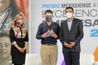 #GEM OTORGA PREMIO MEXIQUENSE A LA EXCELENCIA EMPRESARIAL 2019. 1