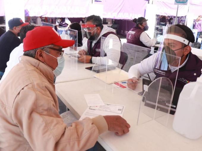 BRINDAN SERVICIOS CARAVANAS POR LA JUSTICIA COTIDIANA A CIUDADANOS DE NEXTLALPAN. 4