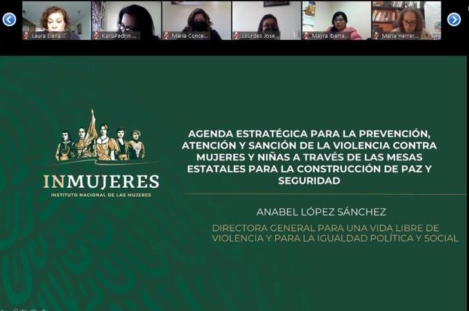 REFRENDAN COMPROMISO DEL #GEM EN SESIÓN VIRTUAL DE INMUJERES. 4