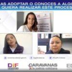 CARAVANAS POR LA JUSTICIA COTIDIANA ASESORAN A MEXIQUENSES EN MATERIA DE ADOPCIÓN. 4