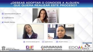 CARAVANAS POR LA JUSTICIA COTIDIANA ASESORAN A MEXIQUENSES EN MATERIA DE ADOPCIÓN. 1