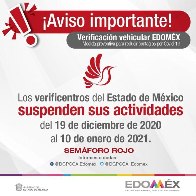 ¡CIERRAN VERIFICENTROS EN #EDOMÉX! 4