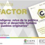 ¡YA ESTÁ DISPONIBLE LA NUEVA EDICIÓN DE LA REVISTA COFACTOR! 9