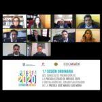 MANTIENE REUNIÓN DE TRABAJO EL CONSEJO DE PREMIACIÓN DE LA PRESEA ESTADO DE MÉXICO 2020. #GEM EXHORTA A MUJERES A INSCRIBIRSE AL... 1