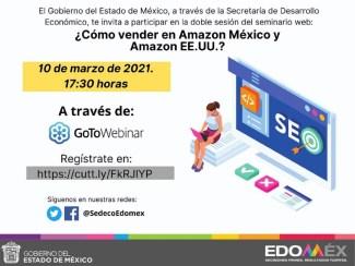 #GEM Y AMAZON CAPACITAN A MIPYMES MEXIQUENSES SOBRE VENTAS ELECTRÓNICAS. 8 ESTABLECIMIENTOS QUEBRANTAN SELLOS DE #COPRISEM; INTE... 21