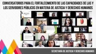 SERVIDORAS Y SERVIDORES PÚBLICOS DE LA SECRETARÍA DE JUSTICIA Y DERECHOS HUMANOS CULMINAN CAPACITACIÓN. #PROPAEM LLEVA A CABO OP... 4